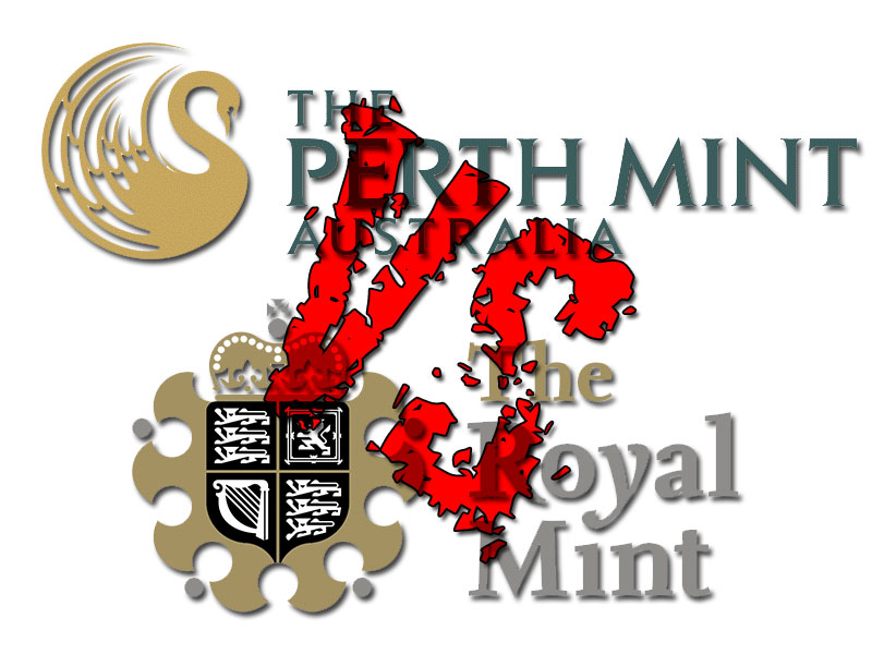 The Perth Mint and the Royal Mint Lunar series – a comparison